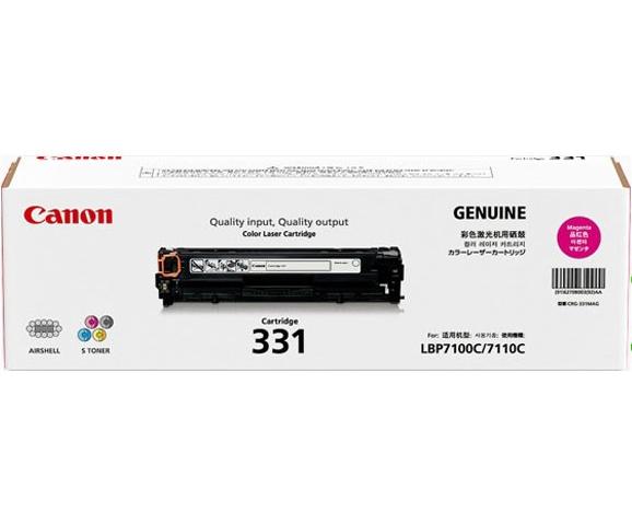 Mực in Canon 331M Magenta Laser Toner Cartridge, mực in canon hàng chính hãng