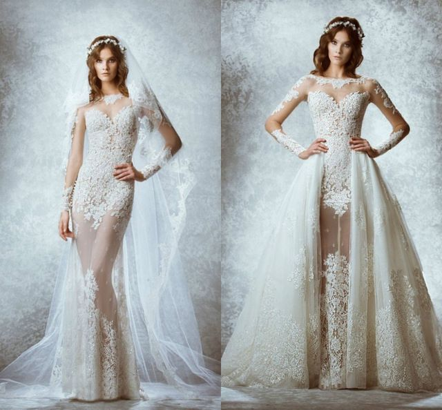 3 Removable Skirt Wedding Dress Davids Bridal