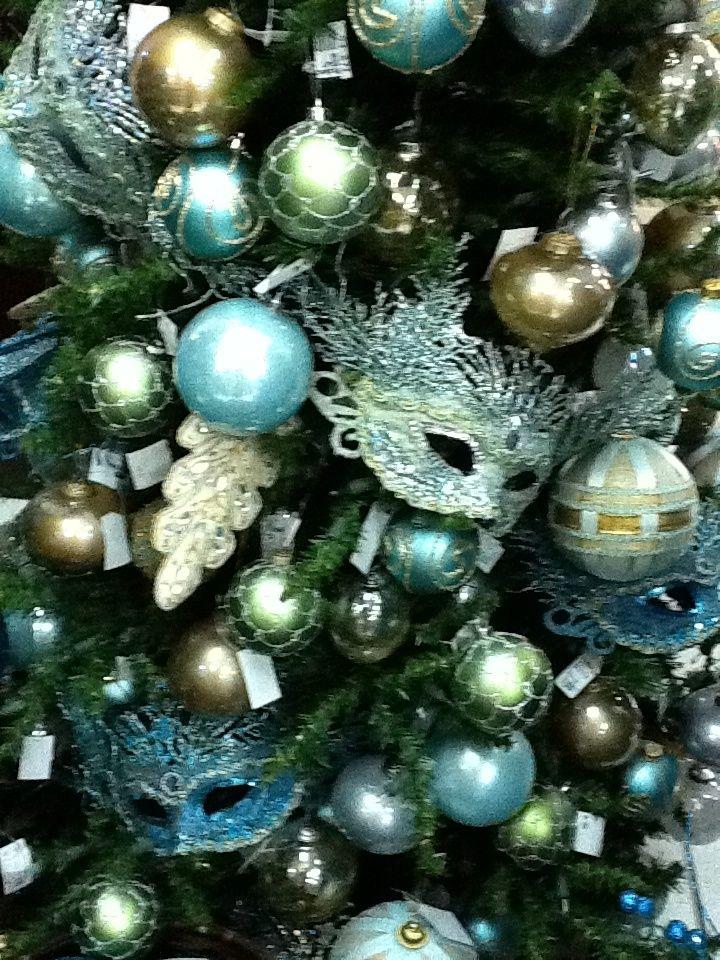 Masquerade Christmas Tree Holiday Christmas Tree Christmas World Christmas
