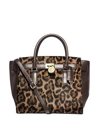 Michael Michael Kors Hamilton Large Traveler Satchel Bag In