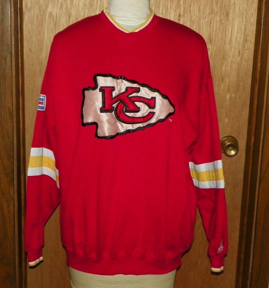 13a4b83f Vintage Starter Pro Line NFL Kansas City Chiefs Sweatshirt 1990's ...