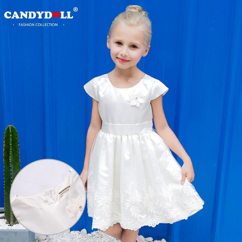 Candydoll 2017 Children Girls Dresses Summer Fashion