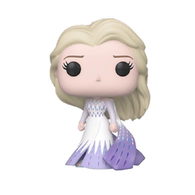 Disney Frozen 2 Elsa Epilogue Dress Funko Pop Vinyl In 2020 Funko Pop Dolls Vinyl Figures Pop Vinyl Figures