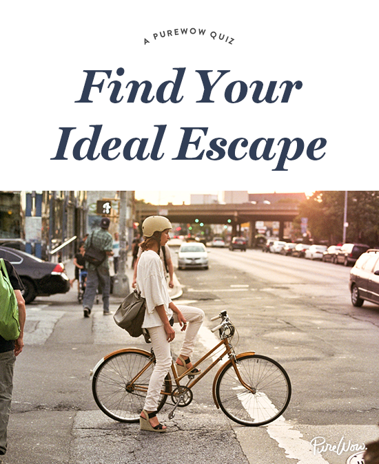 A Purewow Quiz What S Your Ideal Escape Cool Bike Helmets