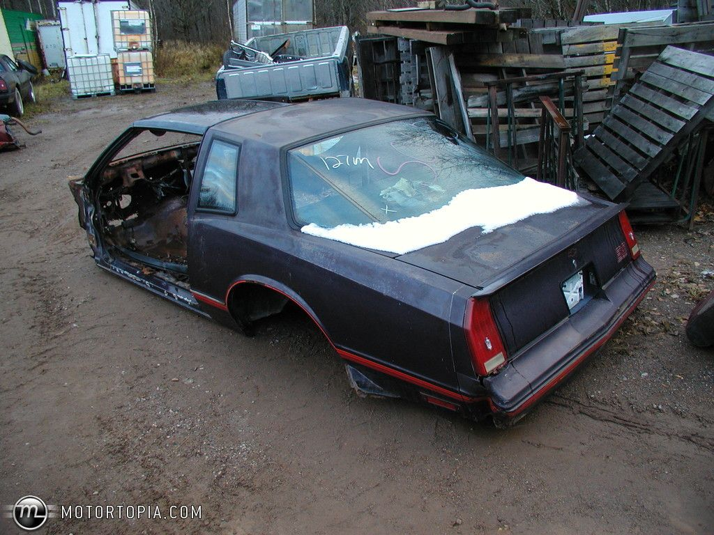 built 1987 monte carlo ss   Monte Carlo Ss Parts For Sale