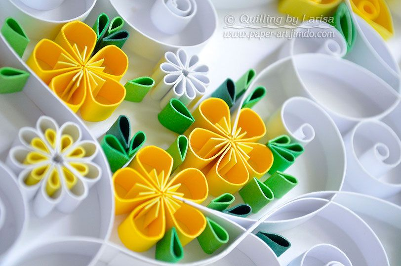 quilling, quilling art, course quilling, graphic quilling, paper ...