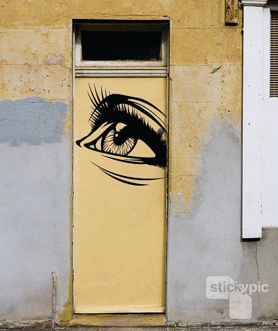 gaze via stickypic on etsy | Art | Pinterest | Street art, She s and ...