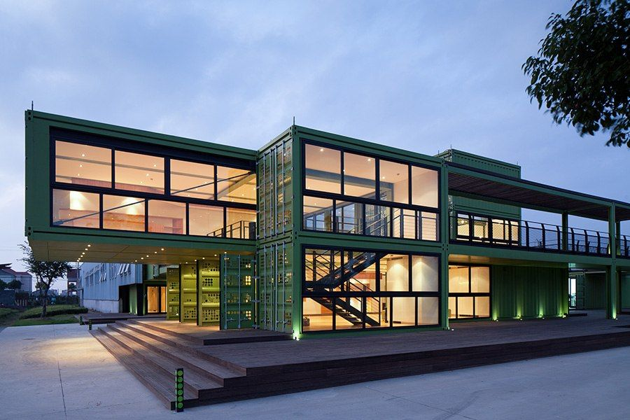 Shipping Container Architecture Around The World Container House