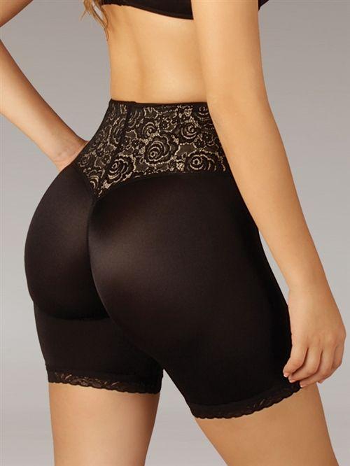 fa6c1f4f8 Mid Thigh Butt Enhancer w  Front Closure- Butt boosting mid-thigh shapewear  will tone and lift inner thighs and buttocks. Front closure to trim the  tummy ...