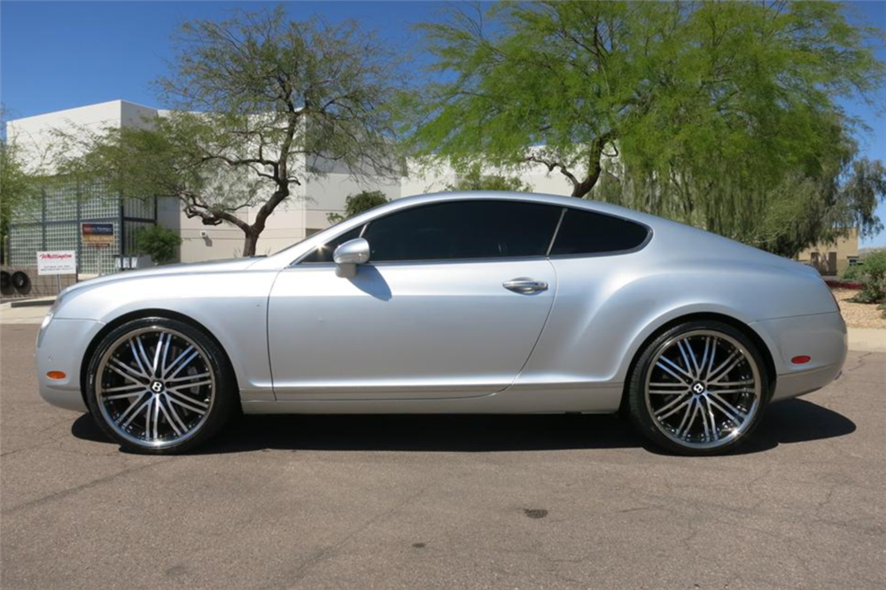 2004 Bentley Continental Gt Side Profile 201809 Cars Pinterest