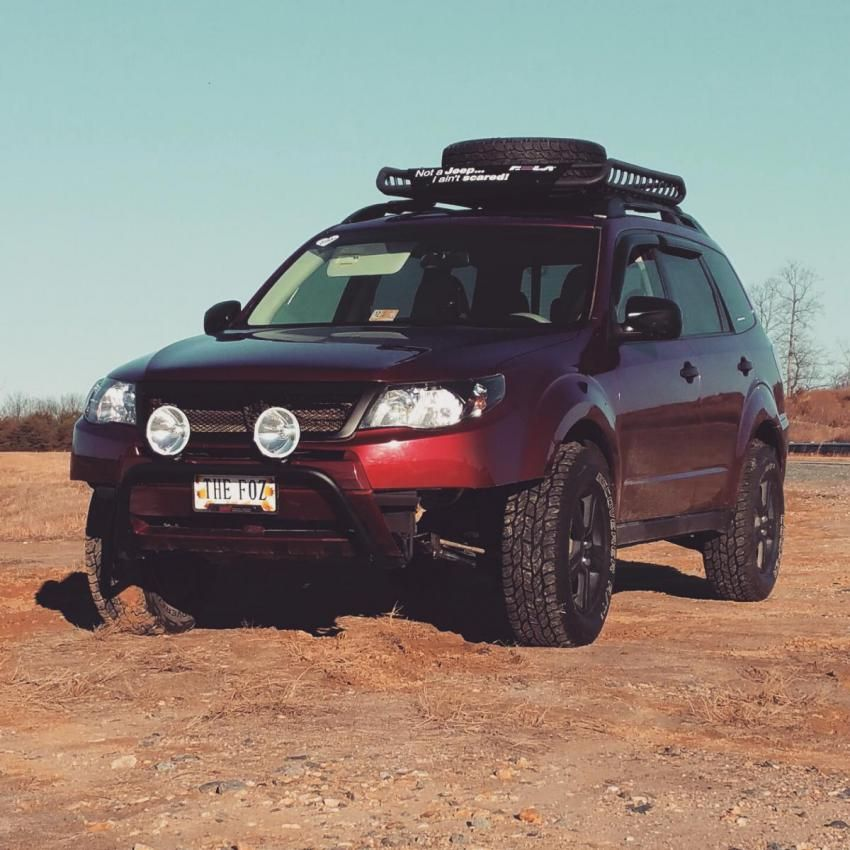 Clean Lifted Forester All Terrain Tires Subaru Forester Subaru Outback Offroad Lifted Subaru