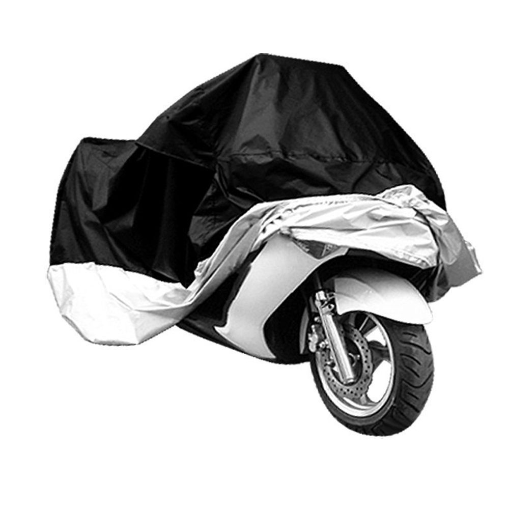 XXXL Motorcycle Waterproof Cover Outdoor Dust Protector Anti-UV Motorbike Cover
