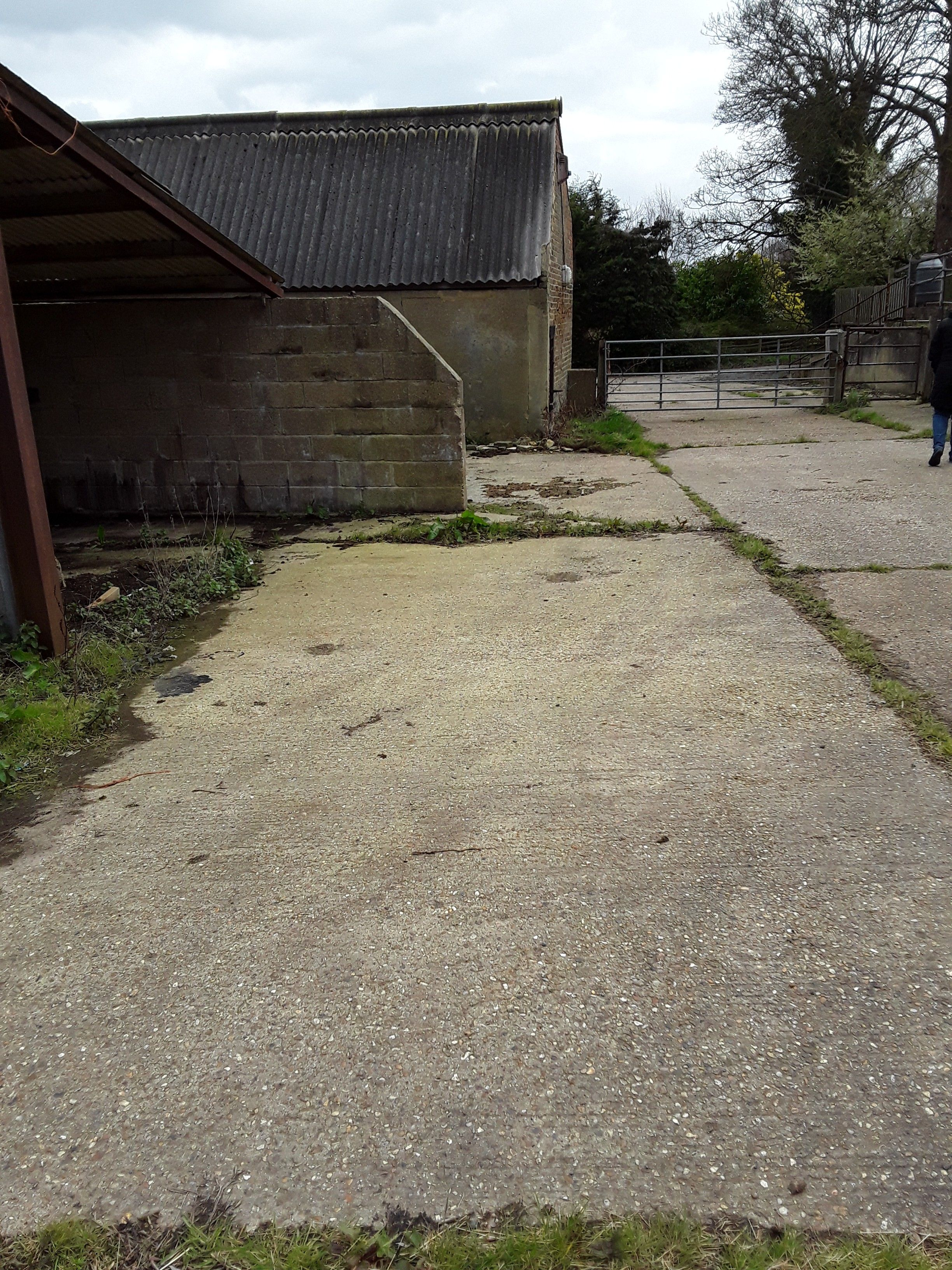 Another Horse Barn In Brentwood With Its Roof Prepared For Removal Asbestos Removal Demoliton Barn Essex Kent Lond Horse Barn Asbestos Asbestos Removal