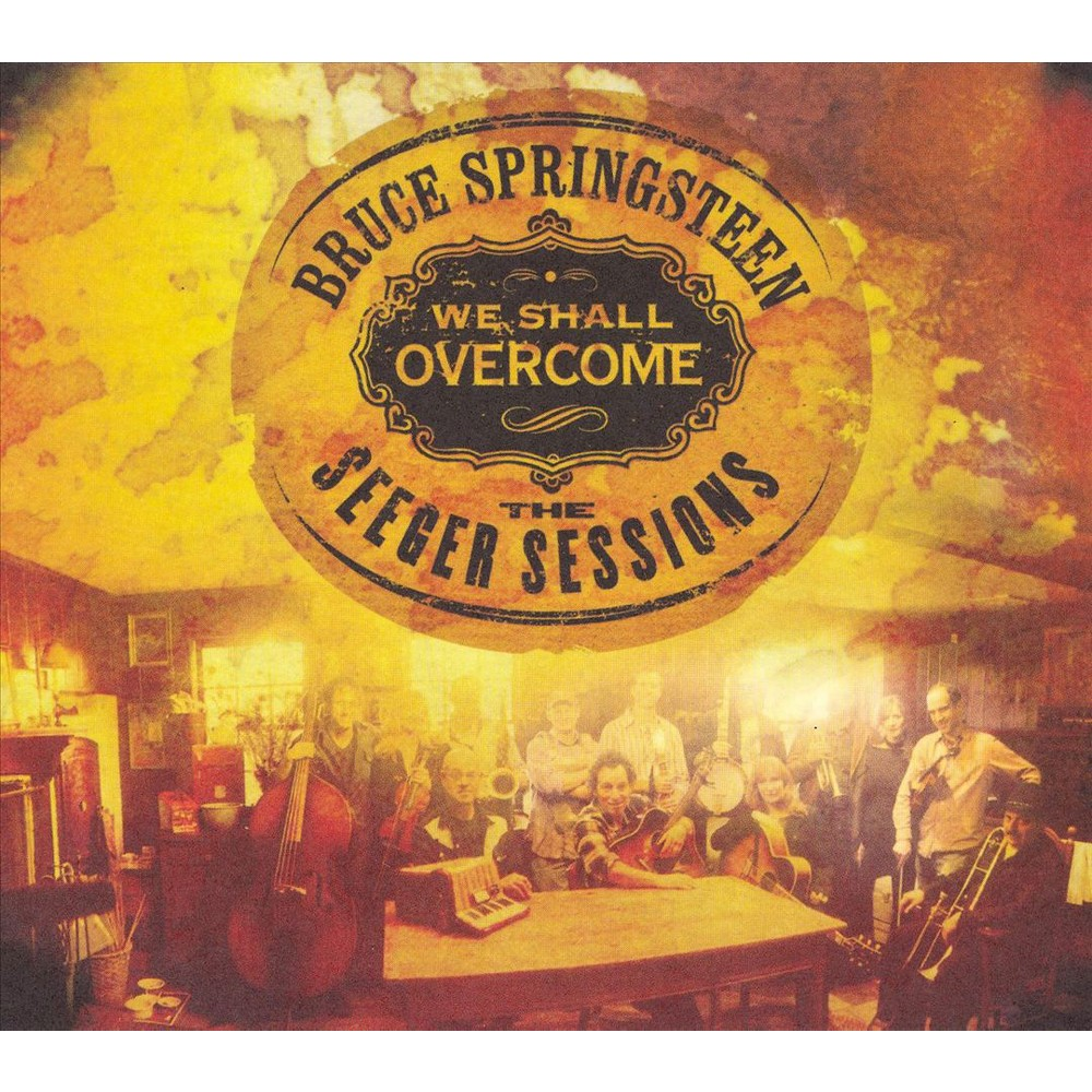 Bruce Springsteen We Shall Overcome The Seeger Sessions Dvd Bruce Springsteen Bruce Springsteen Albums American Folk Music