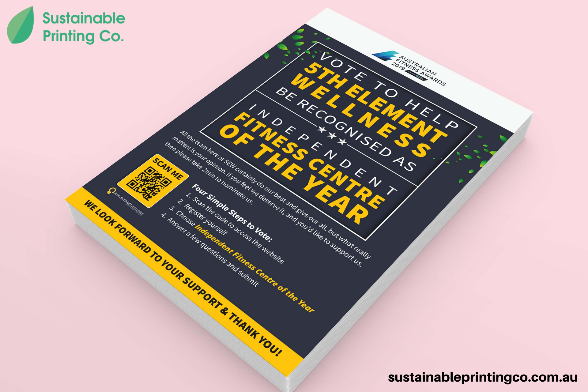 Sustainable Printing offers a range of Eco-Friendly Posters & Flyers Printing in different sizes. Order your free Eco-Friendly Flyers & Posters Pr ...