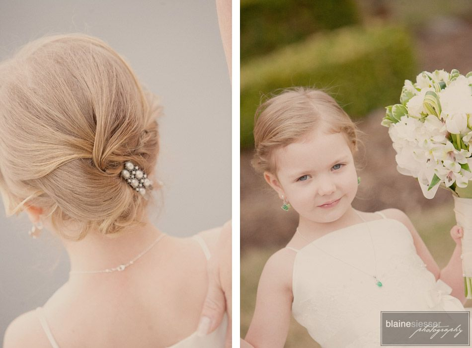 Cute Kid Hairstyles For Weddings: Children's Hair Style Done Earlier This Year By Www