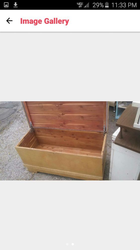 Rare Mid Century Roos Cedar Chest Storage Hope Chest Sweetheart Quilt Storage Quilt Storage Antique Furniture Antiques For Sale