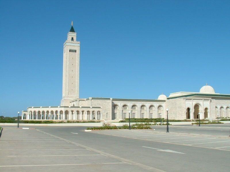 Carthage Mosque Malik Ibn Anas Mosque Tunisia Ferry Building San Francisco Mosque Building