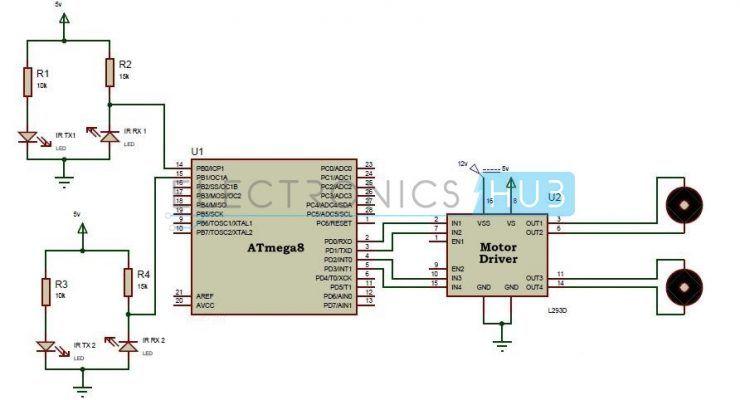 Line Follower Robot Using Microcontroller Mechatronics Enginering