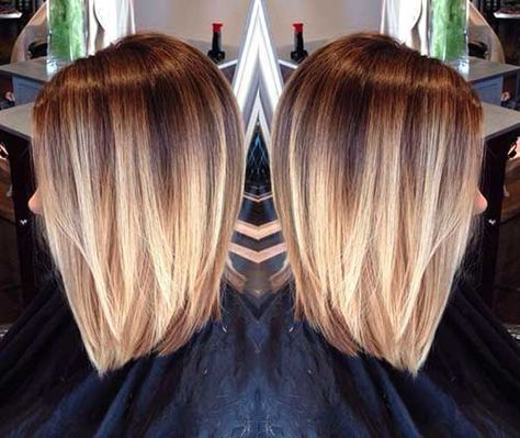 short blonde ombre hair haircuts