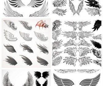 angel wings template wings templates contains angel wings and