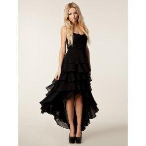 Vestido largo vestido negro sexy vestido de noche vestido de fiesta