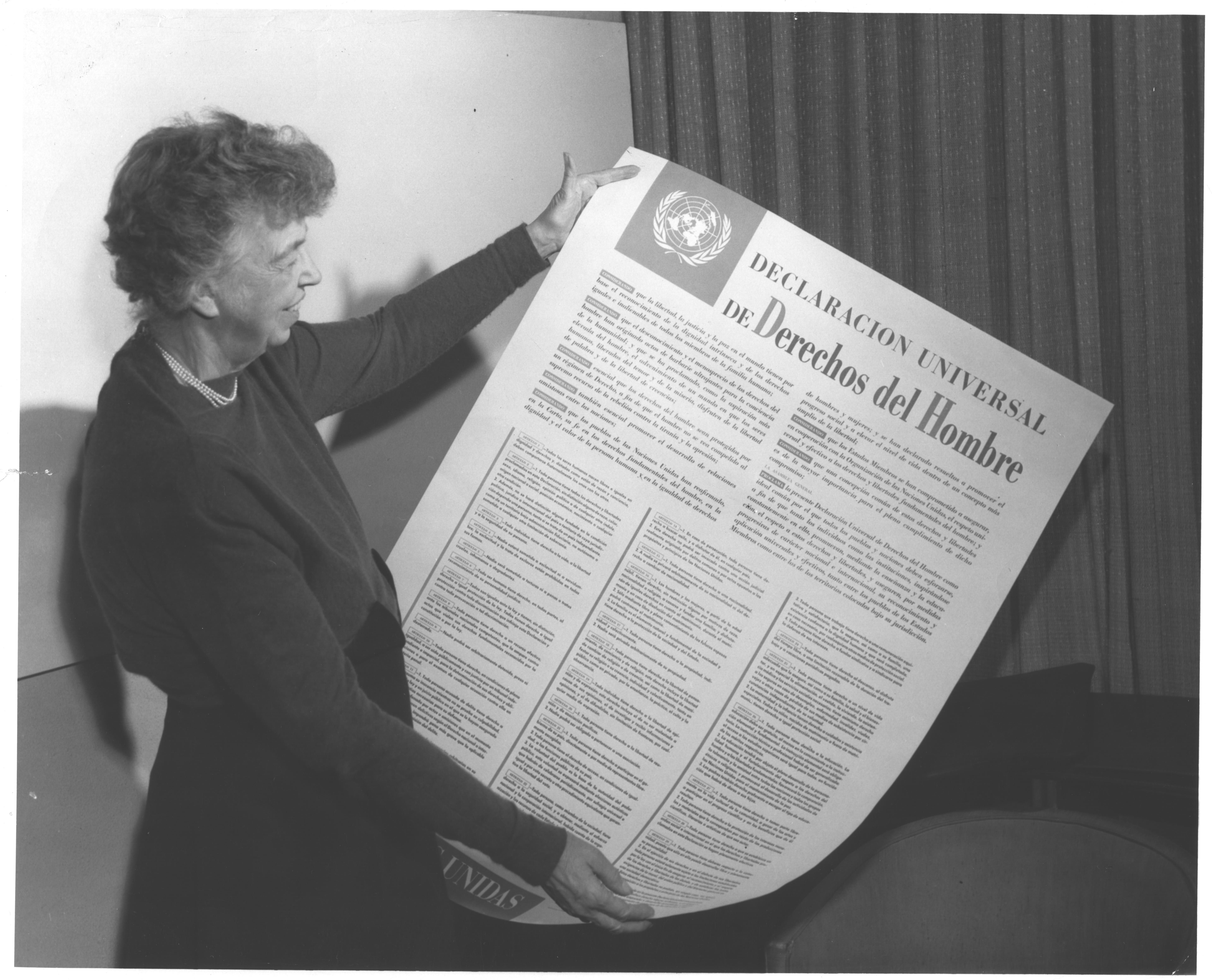 birth of the un s human rights declaration eleanor roosevelt  birth of the un s human rights declaration eleanor roosevelt regarded the universal declaration of human rights