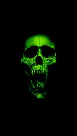 Green Skull Skull Wallpaper Hd Skull Wallpapers Skull Artwork