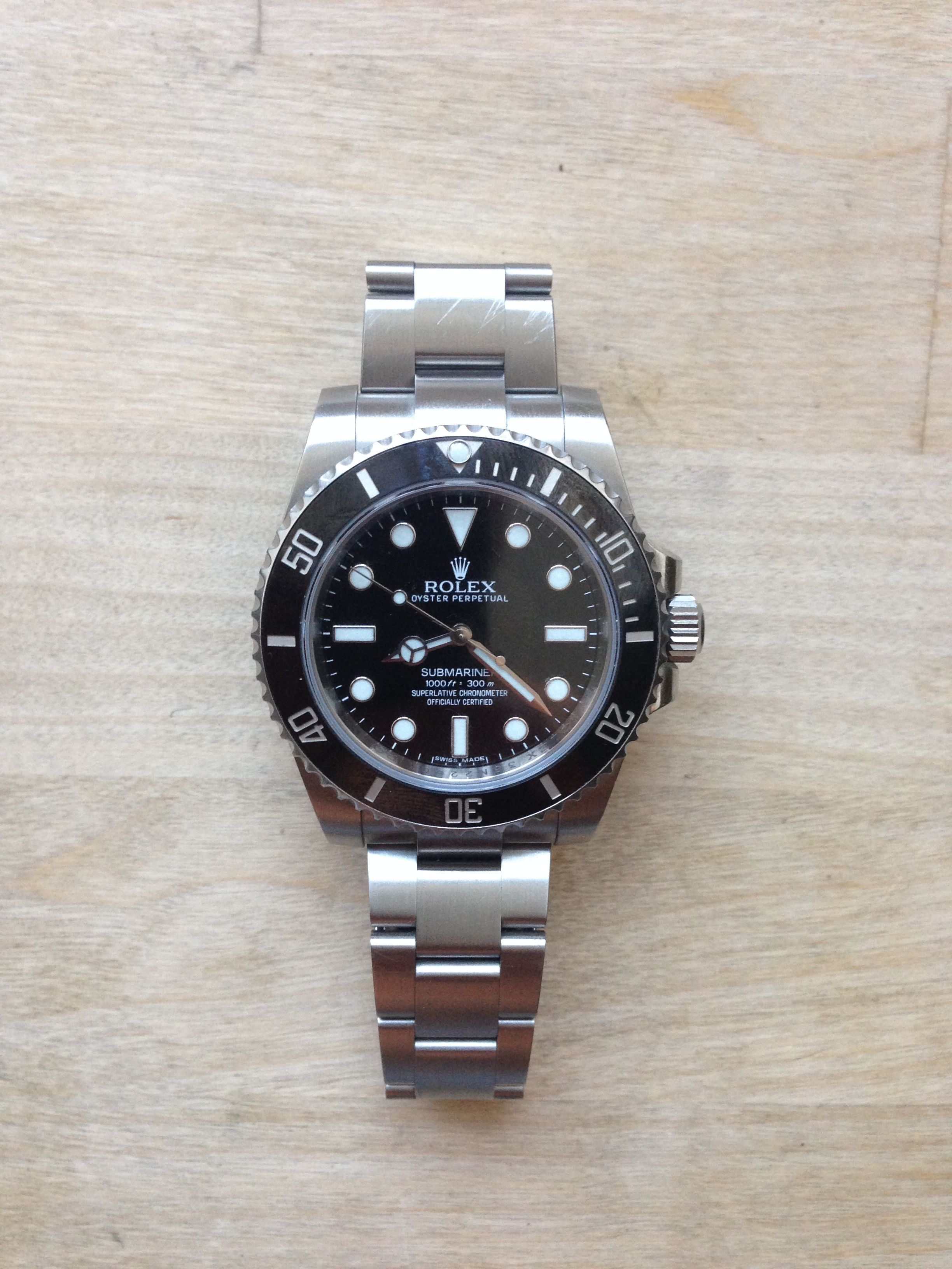 93144c4ab10 Rolex Submariner no date w. ceramic bezel  rolex  submariner ...