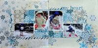 A Project by pirikara celery from our Scrapbooking Gallery originally submitted 01/21/14 at 10:15 PM