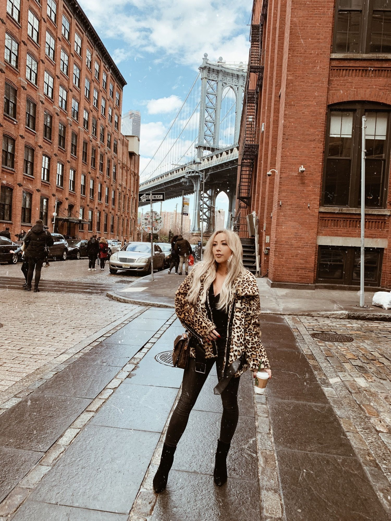 A Day Being Touristy In New York Blondie In The City Fashion Nova Bodysuit Nyc Street Style New York Fashion Week