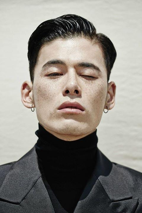 Kim Won Joong Model Face Portrait Mens Hairstyles