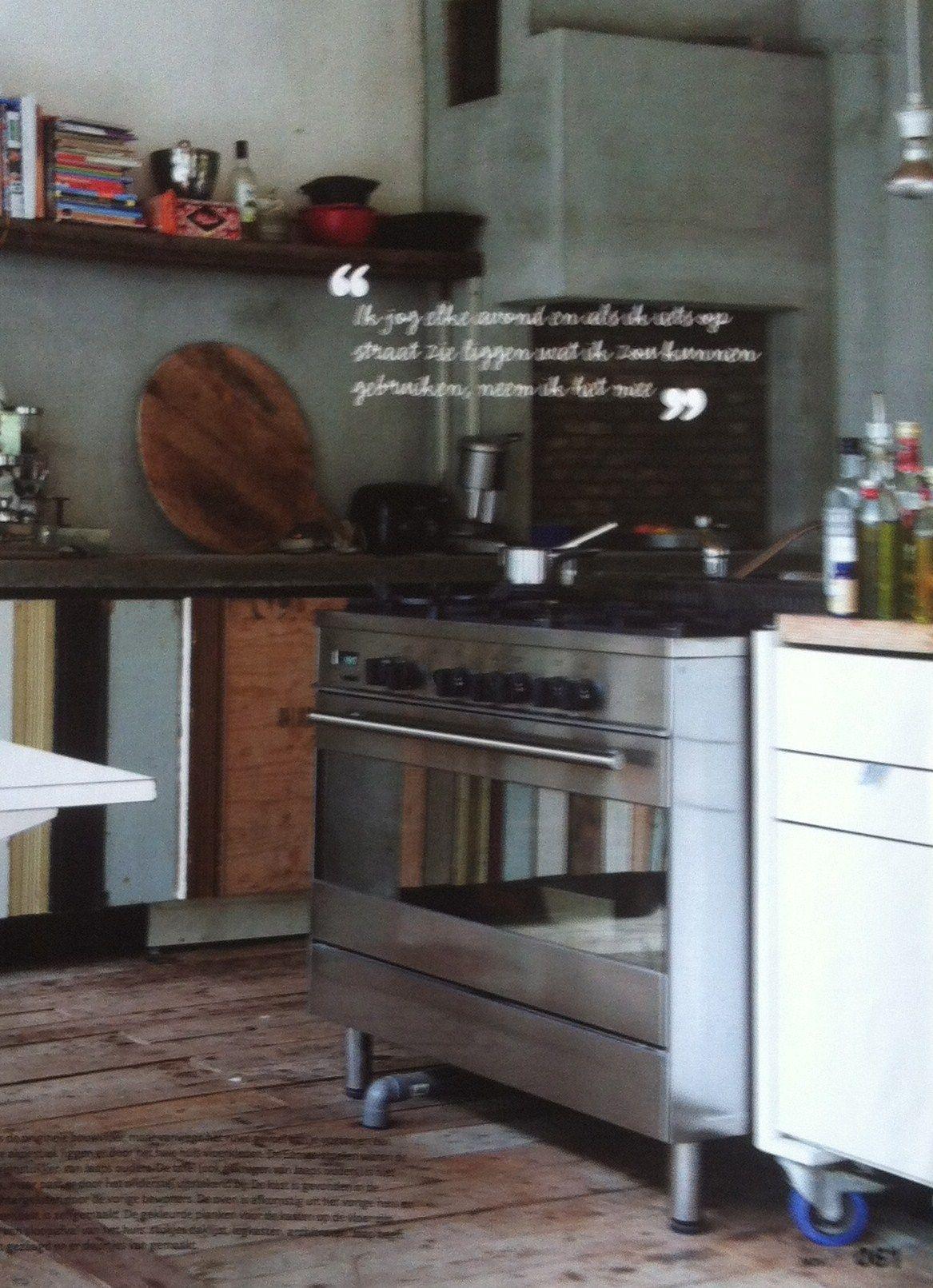 Keuken van sloophout 3 1 keuken home pinterest for Keuken van sloophout