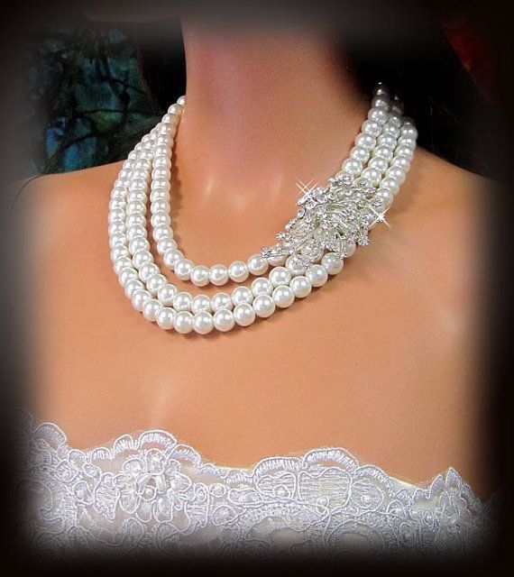 pearls & crystals