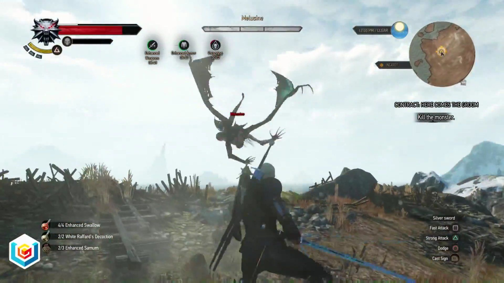 The Witcher 3 Wild Hunt Here Comes the Groom Witcher