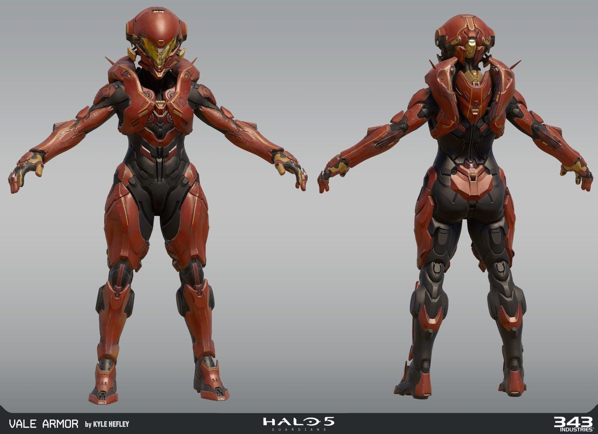 ArtStation - Halo 5 - Vale, Kyle Hefley | Sci-Fi & Concept Art ...