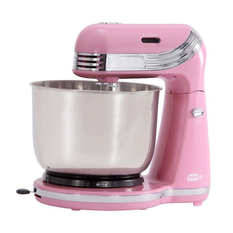 Dash everyday 25 qt stand mixer includes dough hook
