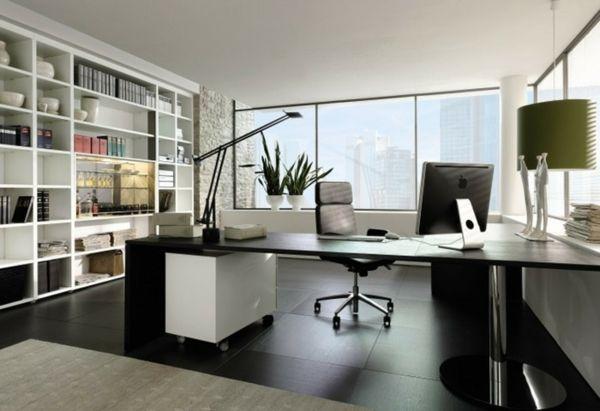 Bureau moderne à la maison idées créatives archzine.fr studio