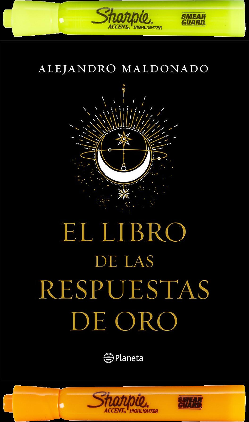 El Libro De Las Respuestas De Oro Alejandro Maldonado Libros Para Leer Juveniles Libros Para Leer Libros