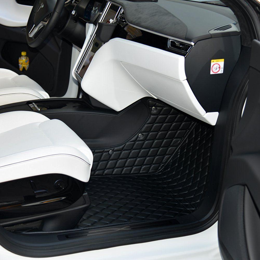 Topfit Customized Car Floor Mat for Tesla Model X 6 Seat
