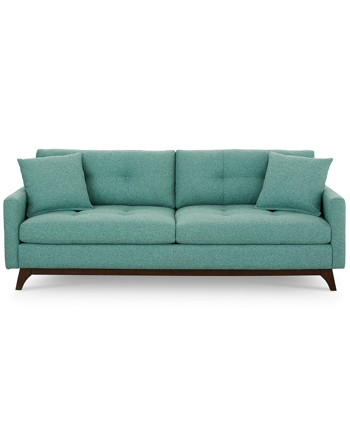Taupe Tufted Nail Head Myles Sofa Cheap Couch Sofa Simple Sofa