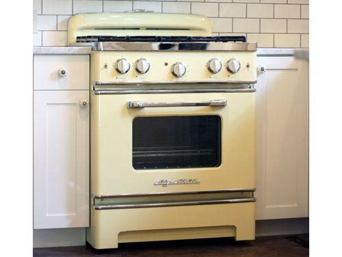 Summer oven stove modern stoves and big chill for Modern 50s style kitchen
