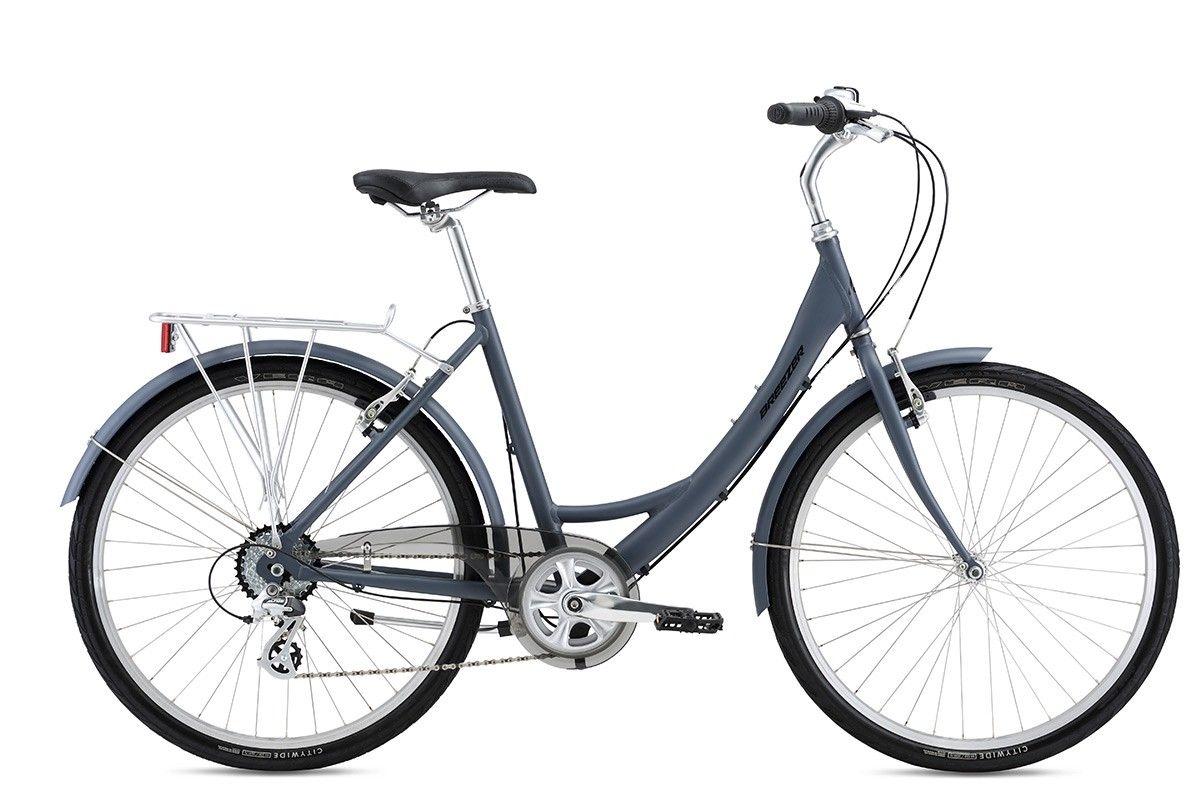 Breezer Uptown EX City Bike Low Step - 8 Speed 2016 Model - Commuter Bike Store
