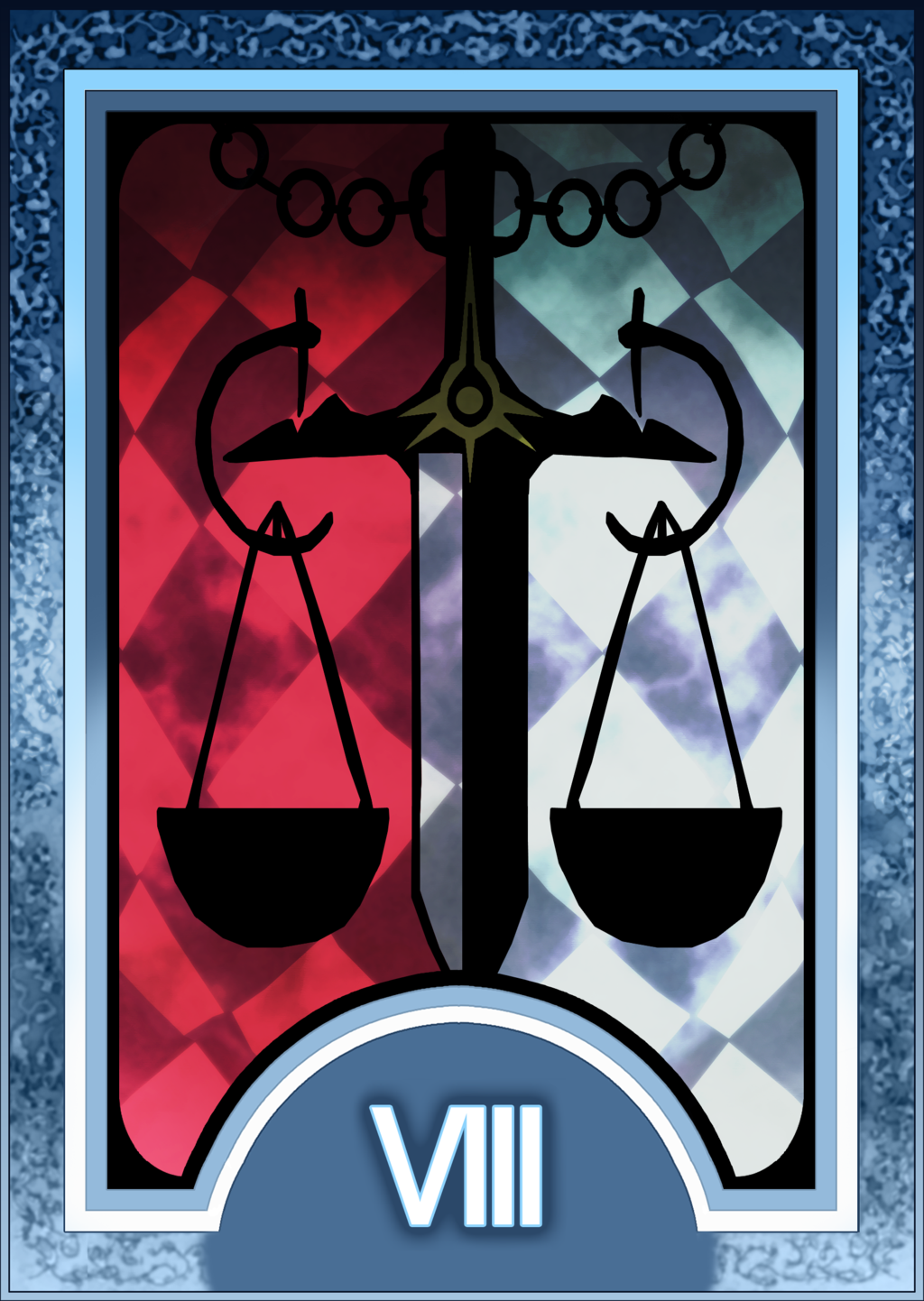 Persona 3 4 Tarot Card Deck Hr Justice Arcana By Enetirnel Persona Tarot Cards Tarot Card Decks Tarot