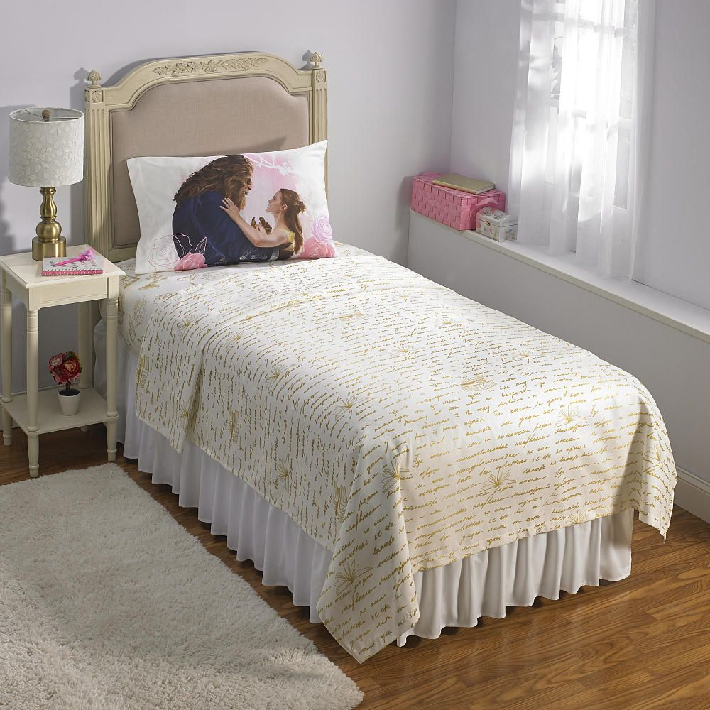 Beauty and the beast belles bedroom - Beauty And The Beast Sheet Set