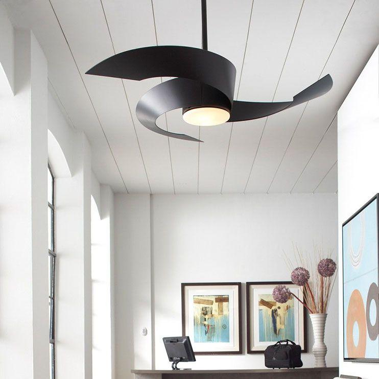 Prepara tu casa para el verano con un ventilador de techo moderno ventiladores pinterest - Ventilador de techo moderno ...