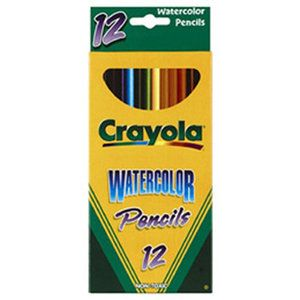 Crayola Llc Watercolor Pencils Full Length 6 Walmart