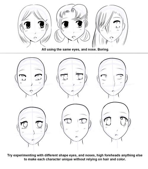 How to draw manga faces the ball of motion when drawing a head sometimes its easy to just always draw a front view but thats boring and everyone does