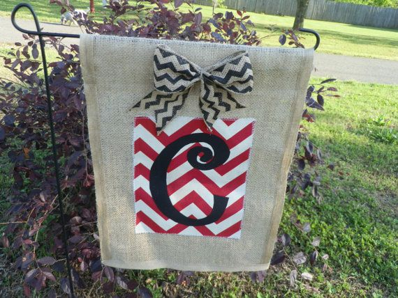 78 Best Images About Garden Flags On Pinterest | Outdoor Flags, Initials  And Chevron Bow