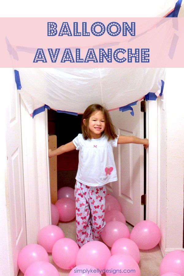I've seen this balloon avalanche on Pinterest pinned several times. There was no link to the source so I can't give credit to the originator. I finally repinned it and decided to try it out myself. As a former engineer I tend to overthink things. As I was blowing up the balloons I thought about …